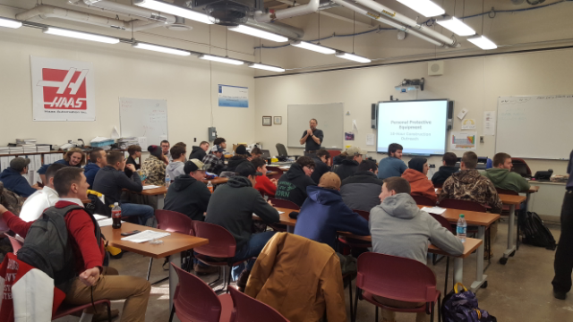 FLTCC Seniors Recieve OSHA 10 Certification