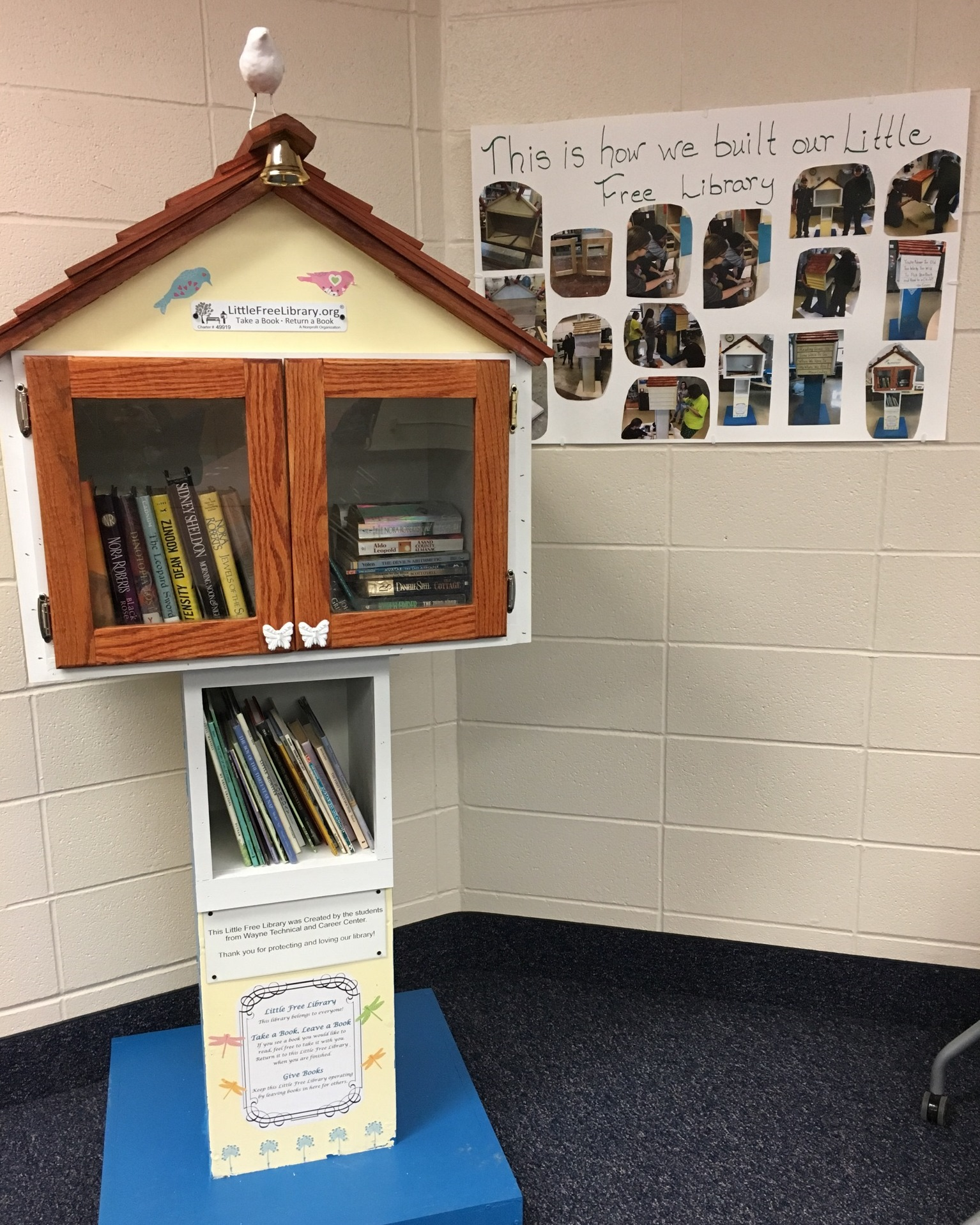The Little Free Library at WTCC